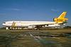STAF Cargo (Servicios de Transportes Aéreos Fueguinos) (World Airways) McDonnell Douglas MD-11CF N276WA (msn 48632) MIA (Bruce Drum). Image: 104148.