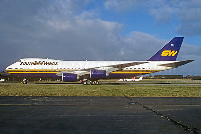 Southern Winds Airlines Boeing 747-267B G-CCMA (msn 22872) FCO (Christian Volpati Collection). Image: 936002.