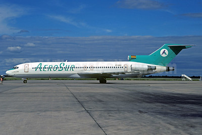 AeroSur (Bolivia) Boeing 727-264 CP-2422 (msn 21617) VVI (Christian Volpati). Image: 931210.