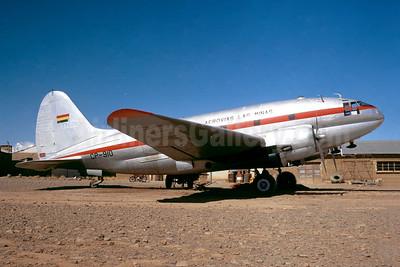 Aerovias Las Minas Curtiss C-46D-10-CU Commando CP-910 (msn 33234) LPB (Jacques Guillem Collection). Image: 946432.