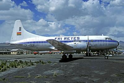 Fri Reyes Convair VT-29D (240) CP-1331 (msn 475) LPB (Christian Volpati). Image: 951649.