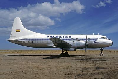 Fri Reyes Convair VT-29D (240) CP-1331 (msn 475) LPB (Christian Volpati). Image: 951648.