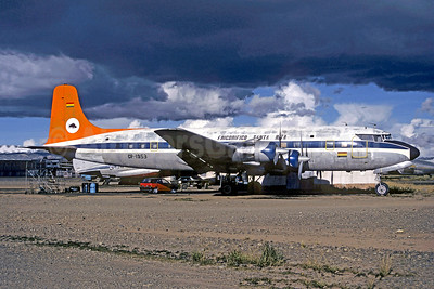 Damaged beyond repair at San Ignace, Bolivia on December 15, 1990