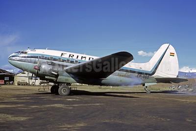 Frimo Transaeros (Transportes Aereos Frimo)  Curtiss C-46A-5-CK Commando CP-960 (msn 86) LPB (Christian Volpati). Image: 952105.
