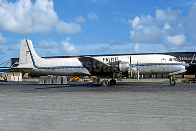 Frimo Transaeros (Transportes Aereos Frimo) Douglas DC-6A CP-1237 (msn 45522) MIA (Bruce Drum). Image: 105467.