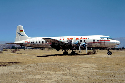 Lloyd Aereo Boliviano-LAB Douglas DC-6B CP-740 (msn 43272) CBB (Christian Volpati Collection). Image: 947841.