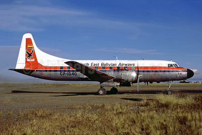 North East Bolivian Airways - NEBA Convair 440-86 CP-1040 (msn 422) LPB (Perry Hoppe). Image: 920591.