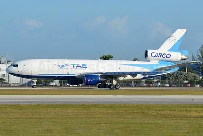 TAB Cargo-Transportes Aereos Bolivianos McDonnell Douglas DC-10-30 (F) CP-2791 (msn 48312) MIA (Bruce Drum). Image: 104297.