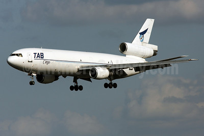 TAB Cargo-Transportes Aereos Bolivianos McDonnell Douglas DC-10-10 (F) CP-2489 (msn 46903) MIA (Brian McDonough). Image: 908068.