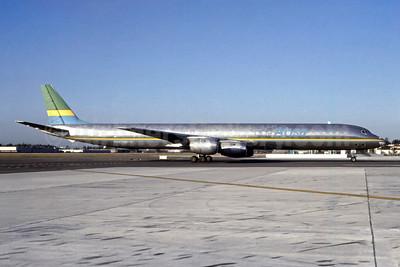 Absa Airline McDonnell Douglas DC-8-71 (F) PP-ABS (msn 45810) MIA (Bruce Drum). Image: 105469.