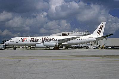 Air Vias Linhas Aéreas McDonnell Douglas DC-8-62 (F) N8969U (PT-AIY) (msn 46070) MIA (Bruce Drum). Image: 104898.