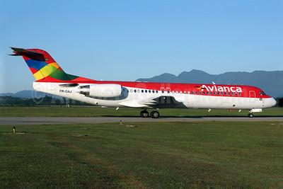 Avianca (Brazil) (OceanAir Linhas Aereas) Fokker F.28 Mk. 0100 PR-OAJ (msn 11418) FLN (AirSpeed). Image: 904903.