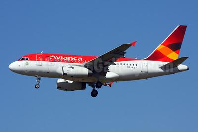 Avianca (Brazil) (OceanAir Linhas Aereas) Airbus A318-121 PR-AVH (msn 3001) GRU (Marcelo F. De Biasi). Image: 907661.