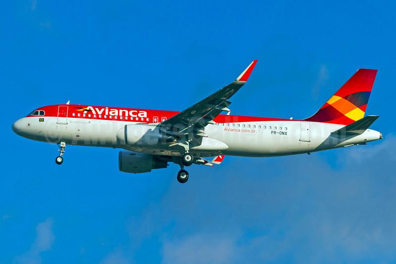 Avianca (Brazil) (OceanAir Linhas Aereas) Airbus A320-214 WL PR-ONX (msn 6057) (Sharklets) GRU (Rodrigo Cozzato). Image: 923153.