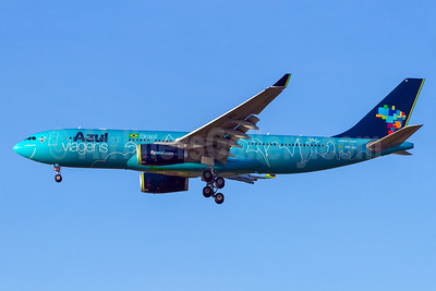 Azul Brasil (Azul Linhas Aereas Brasileiras) Airbus A330-243 PR-AIU (msn 494) (Azul Viagens) VCP (Rodrigo Cozzato). Image: 930953.