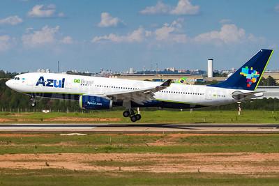 Azul Brasil (Azul Linhas Aereas Brasileiras) Airbus A330-243 PR-AIW (msn 462) VCP (Rodrigo Cozzato). Image: 925810.
