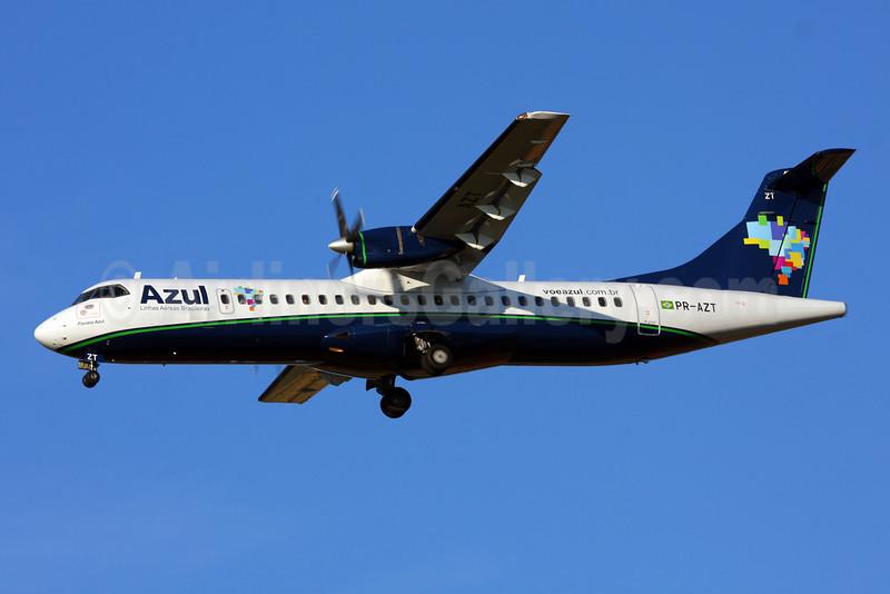 Azul Linhas Aereas Brasileiras ATR 72-202 PR-AZT (msn 450) VCP (Marcelo F. De Biasi). Image: 906236.