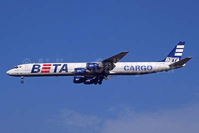 BETA Cargo (Grupo BETA) McDonnell Douglas DC-8-73 (F) PP-BEL (msn 46047) GRU (Jacques Guillem Collection). Image: 945861.