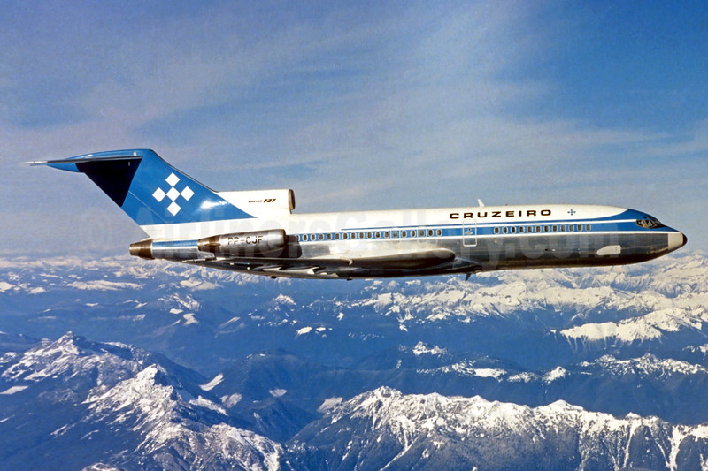 Cruzeiro Boeing 727-1C3 PP-CJF (msn 20419) (Christian Volpati Collection). Image: 936973.