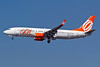 Gol Transportes Aereos Boeing 737-8HX WL PR-GUT (msn 38878) (orange engines) CGH (Rodrigo Cozzato). Image: 910079.