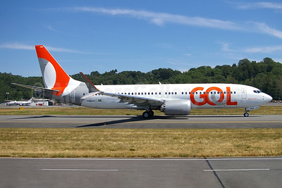 Gol's first Boeing 737-8 MAX 8, delivered on June 27, 2018