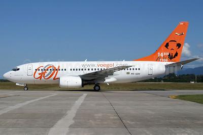 Gol Transportes Aereos Boeing 737-76N PR-GOV (msn 28580) (100 Anos) FLN (AirSpeed). Image: 905029.