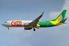 Gol's 2017 #VoaCanarinho yellow canary logo jet