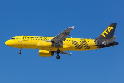Itapemirim Transportes Aéreos - ITA (2nd) Airbus A320-232 PS-SPJ (msn 2589) GRU (Rodrigo Cozzato). Image: 954412.