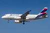 First LATAM Brazil A319 in the new brand