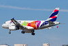 """LATAM's """"Rio 2016 Olympic Torch"""" special livery"""