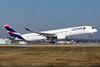 LATAM's PR-XTG leased to Qatar Airways as A7-AMA on February 21, 2017