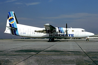 Nordeste Linhas Aéreas Regionais Fokker F.27 Mk. 050 PT-MNA (msn 20298) CGH (Christian Volpati). Image: 950396.