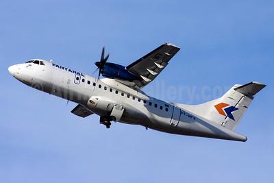 Pantanal Linhas Aereas ATR 42-300 PT-MFV (msn 043) CGH (Bernardo Andrade). Image: 908817.