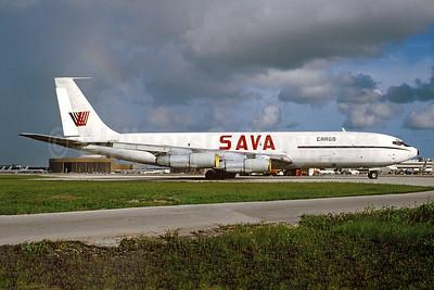 SAVA Cargo Boeing 707-321C N707HT (msn 19271) MIA (Bruce Drum). Image: 104143.