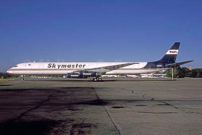 Skymaster Airlines McDonnell Douglas DC-8-63 (F) PR-SKM (msn 46137) GRU (Alexandre Polati de Carvalho - Bruce Drum Collection). Image: 952478.
