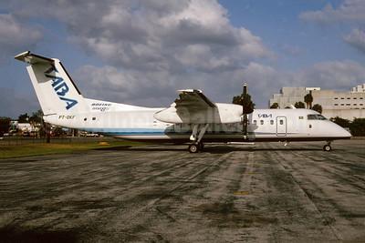 TABA (Transportes Aéreos da Bacia Amazônica) de Havilland Canada DHC-8-311 Dash 8 PT-OKF (msn 242) MIA (Bruce Drum). Image: 104156.