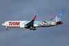 TAM Brasil (TAM Linhas Aereas) Boeing 767-316 ER WL PT-MSZ (msn 41994) (Walt Disney World) JFK (TMK Photography). Image: 935001.