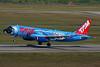 "TAM Linhas Aereas Airbus A320-231 PT-MZN (msn 440) (Rio: The Movie) ""Baby Blu"" (left side) GRU (Marcelo F. De Biasi). Image: 933658."