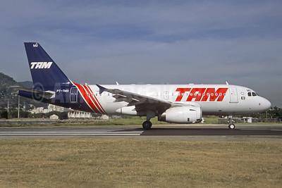TAM Brasil (TAM Linhas Aereas) Airbus A319-132 PT-TMD (msn 4192) (Retrojet 2) SDU (Christian Volpati). Image: 907730.