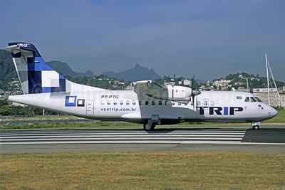 TRIP Linhas Aereas ATR 42-320 PP-PTG (msn 128) SDU (Christian Volpati). Image: 906833.