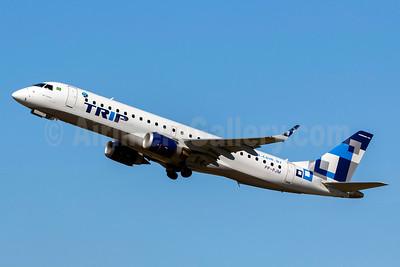 TRIP Linhas Aereas Embraer ERJ 190-100LR PP-PJM (msn 19000432) GRU (Rodrigo Cozzato). Image: 920780.