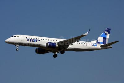 TRIP Linhas Aereas Embraer ERJ 190-100LR PP-PJK (msn 19000178) GRU (Marcelo F. De Biasi). Image: 906836.