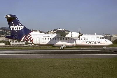 TRIP Linhas Aereas ATR 42-320 PP-PTG (msn 128) SDU (Christian Volpati). Image: 941482.