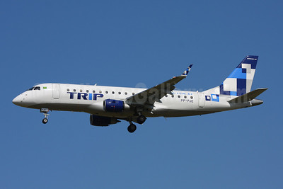 TRIP Linhas Aereas Embraer ERJ 170-200LR (ERJ 175) PP-PJE (msn 17000291) GRU (Marcelo F. De Biasi). Image: 906835.