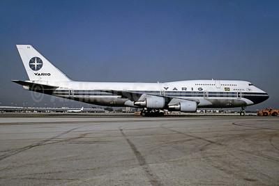 VARIG (1st) Boeing 747-341 PP-VOA (msn 24106) MIA (Bruce Drum). Image: 105056.