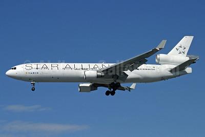 VARIG (1st) McDonnell Douglas MD-11 PP-VTU (msn 48541) (Star Alliance) LHR (Antony J. Best). Image: 912823.