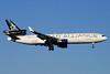 VARIG (1st) McDonnell Douglas MD-11 PP-VTH (msn 48457) (Star Alliance) LHR (Antony J. Best). Image: 900196.