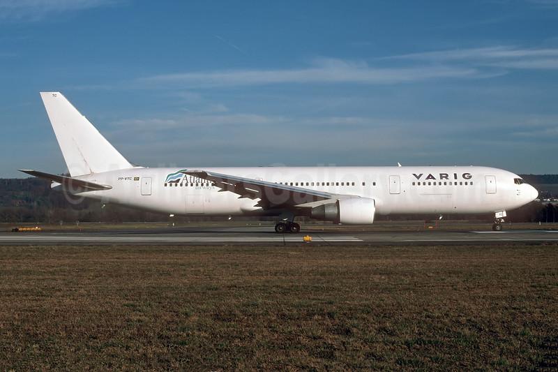 VARIG (1st)-euroAtlantic Airways Boeing 767-3Y0 ER PP-VTC (msn 25411) ZRH (Rolf Wallner). Image: 946805.