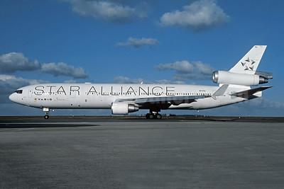 VARIG (1st) McDonnell Douglas MD-11 PP-VTU (msn 48541) (Star Alliance) CDG (Christian Volpati). Image: 955510.