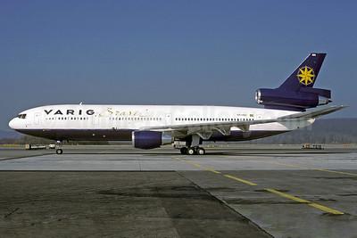 VARIG (1st) McDonnell Douglas DC-10-30 PP-VMA (msn 46944) ZRH (Rolf Wallner). Image: 912849.